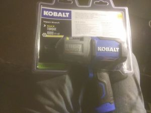 Kobalt 1/2 in. Drive Impact wrench for Sale in Eugene, OR