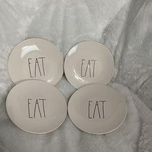 """Rae Dunn """"Eat"""" Plates (dessert) for Sale in Harleysville, PA"""
