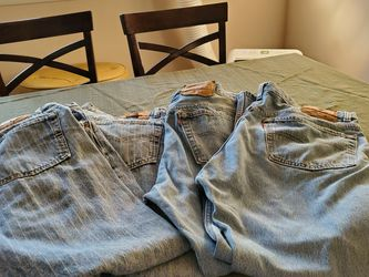 VINTAGE LEVI JEANS MADE IN AMERICA MENS BUTTON FRONT FLY 38 X 30 for Sale in College Park,  GA