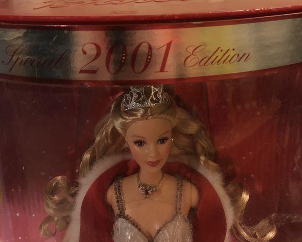 Barbie holiday 2001