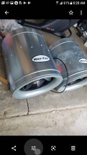 max fan can fan for Sale in Hemet, CA