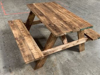 Rustic Wooden Table for Sale in Placentia,  CA