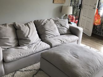 Living Spaces Utopia Sofa And Ottoman - FREE! for Sale in Glendale,  CA