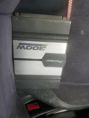 Pioneer 300 2 ch amp for Sale in Auburn, WA