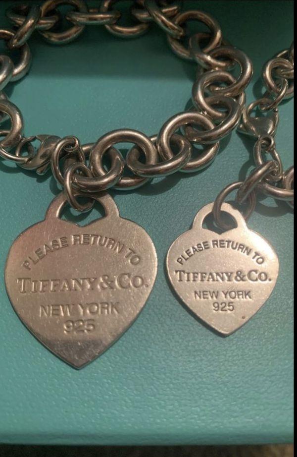XLarge Tiffany & Co Heart Tag Bracelet