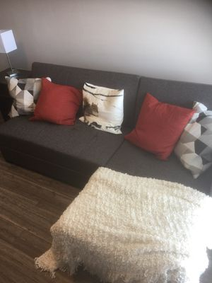 Brand New Sofa Sleeper with Chaise and Storage! for Sale in Salt Lake City, UT