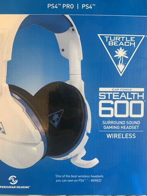 Ps4/ Ps4 pro Turtle beach wireless headset for Sale in Normal, IL