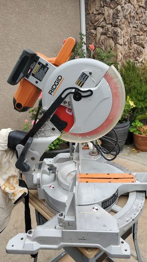 """Ridgid 12""""great miter saw any low offers will be ignore YES!(NO TABLE) $ 15 EXTRA for Sale in Lemon Grove, CA"""