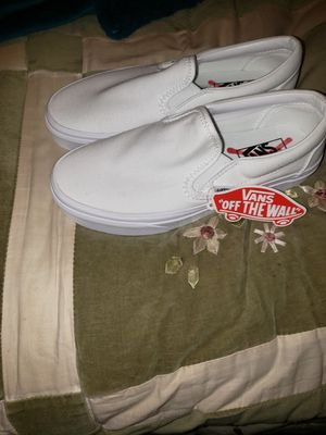 White Van's size 8 womens for Sale in North Lauderdale, FL