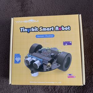 Tiny:bit Smart Robot Micro-bit Powered Yahboom Micro:bit Smart Robot Kit for Kids DIY Programmable STEM Education Toy Car for Sale in St. Petersburg, FL