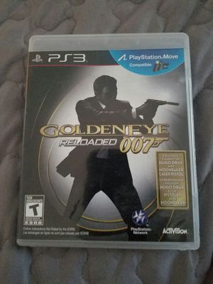 Ps3 game golden eye reloaded 007 for Sale in Miami, FL