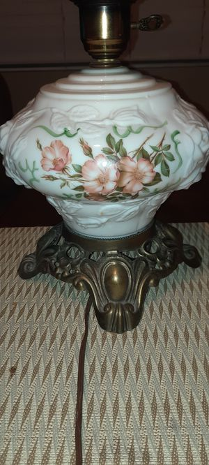 Vintage Hurricane Lamp Base for Sale in Gaithersburg, MD