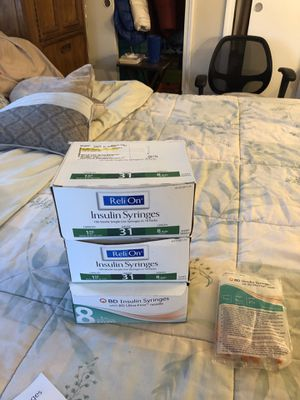 Boxes of syringes for Sale in Hamden, CT