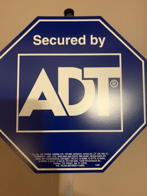 ADT home security SIGN for Sale in Rosemont, IL