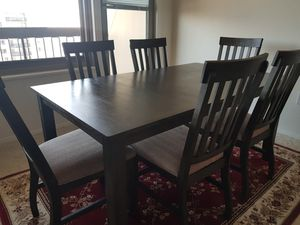 Ashley dining room with 6 chairs for Sale in Alexandria, VA
