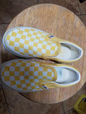 Kids Vans size 11.5 for Sale in Perris, CA