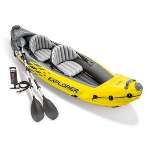 Inflatable 2 Person Kayak with Paddles and Hand Pump for Sale in Little Chute, WI