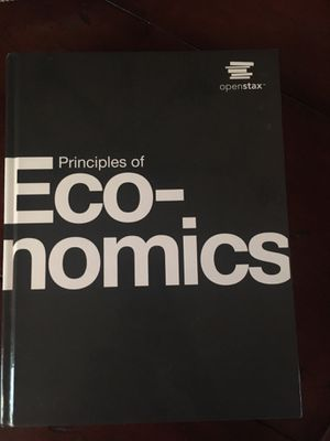 Openstax Principles of Economics for Sale in FL, US