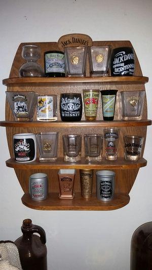 Legends of jack daniels shot glass collection for Sale in Glendale, AZ