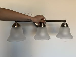 Restroom light fixture for Sale in Surprise, AZ