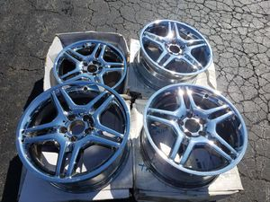 "18"" Mercedes e55 AMG wheels for Sale in Chicago, IL"