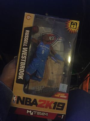 NBA 2k 19 Russell Westbrook Action Figure *Brand New* for Sale in Canton, OH