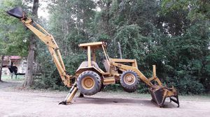 4x4. 70 hp catripillar diesel backhoe. Drives out very strong. for Sale in Hockley, TX