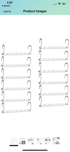 Closet Hanger Organizers for Sale in Jurupa Valley, CA