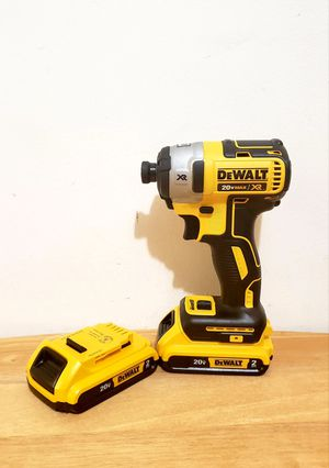 New Impact Drill Dewalt MAX XR whit (2)Batteries 2.0AH NO CHARGER FIRM PRICE for Sale in Woodbridge, VA