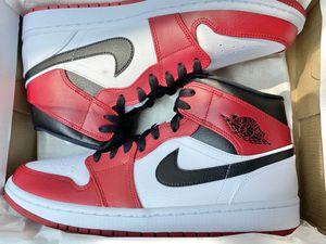 Jordan 1 Mid Chicago White Heel Size 10 , 12 Men for Sale in Anaheim, CA