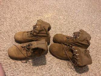5W Army issued combat boots for Sale in Manassas Park,  VA