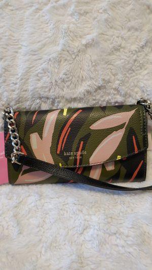 kate spade new york leather eva modern wallet crossbody bag for Sale in Portland, OR