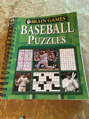 New Brain Games Baseball Puzzles Book for Sale in Pittsburgh, PA
