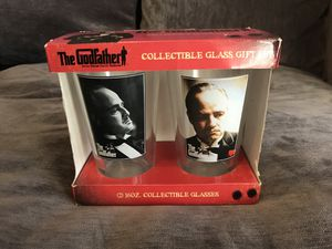 The Godfather 16oz collectible glass gift set for Sale in Chandler, AZ