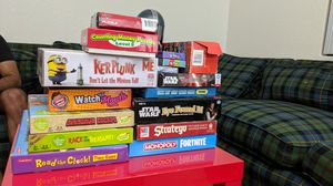 Assorted Board Games and Puzzles for Sale in Tempe, AZ