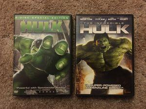 Hulk. The Incredible Hulk. DVD's Collection for Sale in Harrisonburg, VA