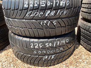 225 50 17 for Sale in Gilbert, AZ