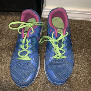 Nike women pink, blue neon green shoes size 8 1/2 for Sale in Bonney Lake, WA