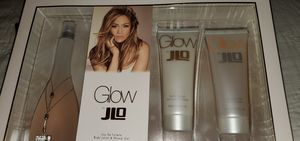 JLO GLOW perfume gift set 3.4 oz with gel& lotion new for Sale in Burbank, IL