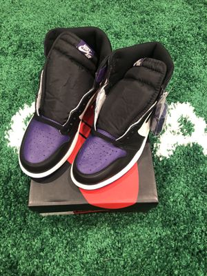 Jordan 1 high court purple 1.0. for Sale in Pacifica, CA