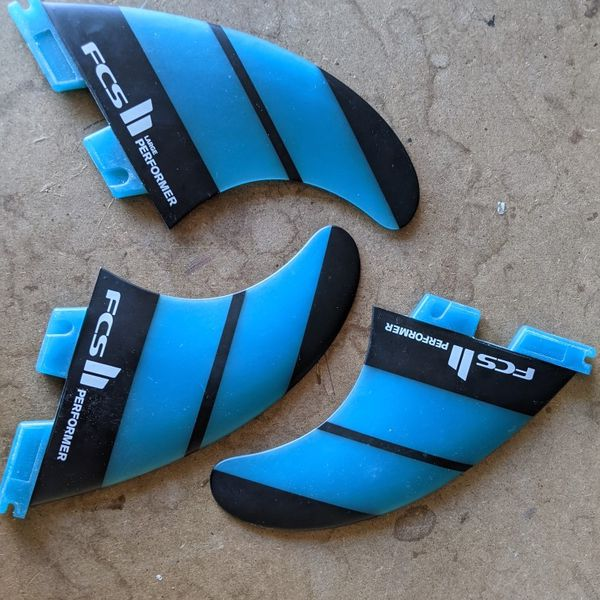 FCS II Performer Neo Glass Large Surfboard Fins