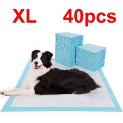 brand new $15 xl (40pcs, 22x36 inches) dog puppy pet training pads unscented for Sale in Whittier,  CA