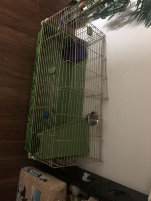 Cage for rabbit and item for inside for Sale in Richmond, VA