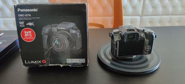 Panasonic G7 4K Mirrorless Camera, 14-42mm Lense
