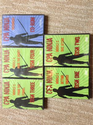 Ninja CPA 4 Series DVD and resources online selling work from home for Sale in Tigard, OR