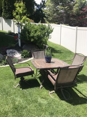 Outdoor Dining Table Set for Sale in Riverton, UT