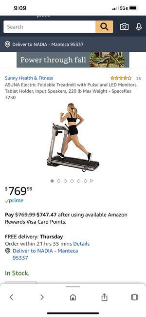 ASUNA SpaceFlex 7750 Treadmill for Sale in Santa Clara, CA