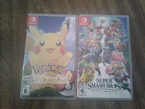 Nintendo Switch games for Sale in Beckley, WV