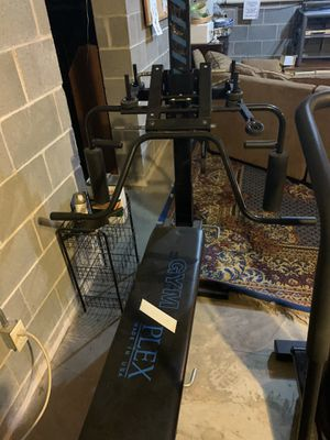 GYM PLEX Workout Bench with adjustable all in one home gym equipment for Sale in Manheim, PA