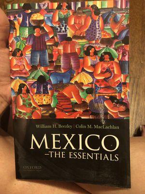 Mexico - the essentials (by: William B. Beezley ) for Sale in Montebello, CA
